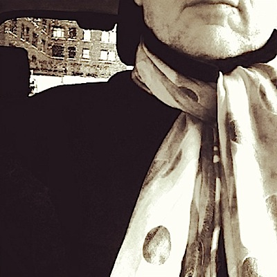"""London writer Neil Baker, not to be outdone, coins """"scarfie"""". Are you listening OED?"""