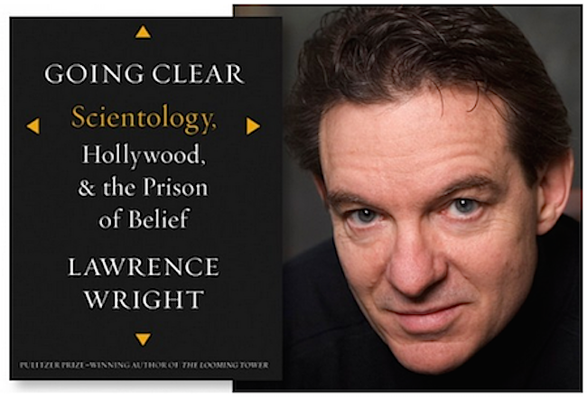 Lawrence Wright and his great new book.