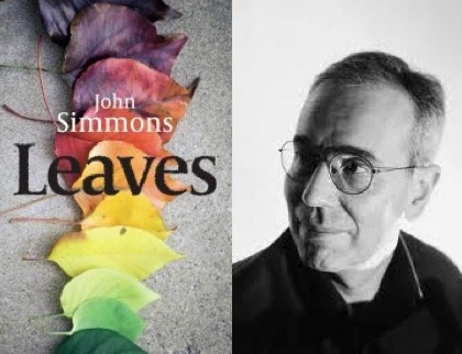 John simmons author and book cover for leaves