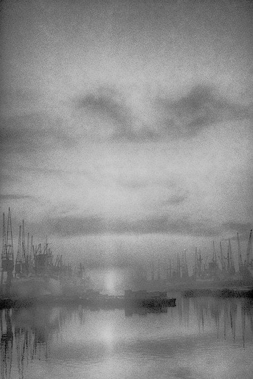 The docks at daybreak