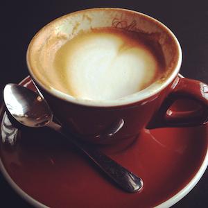 photo of a cappuccino