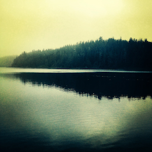 photo of a lake on the Olympic Peninsula